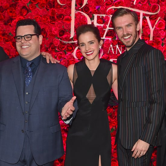 Beauty and the Beast Press Tour Pictures