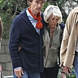 Matthew McConaughey is losing weight for his role in The Dallas Buyer's Club.
