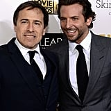 David O. Russell and Bradley Cooper