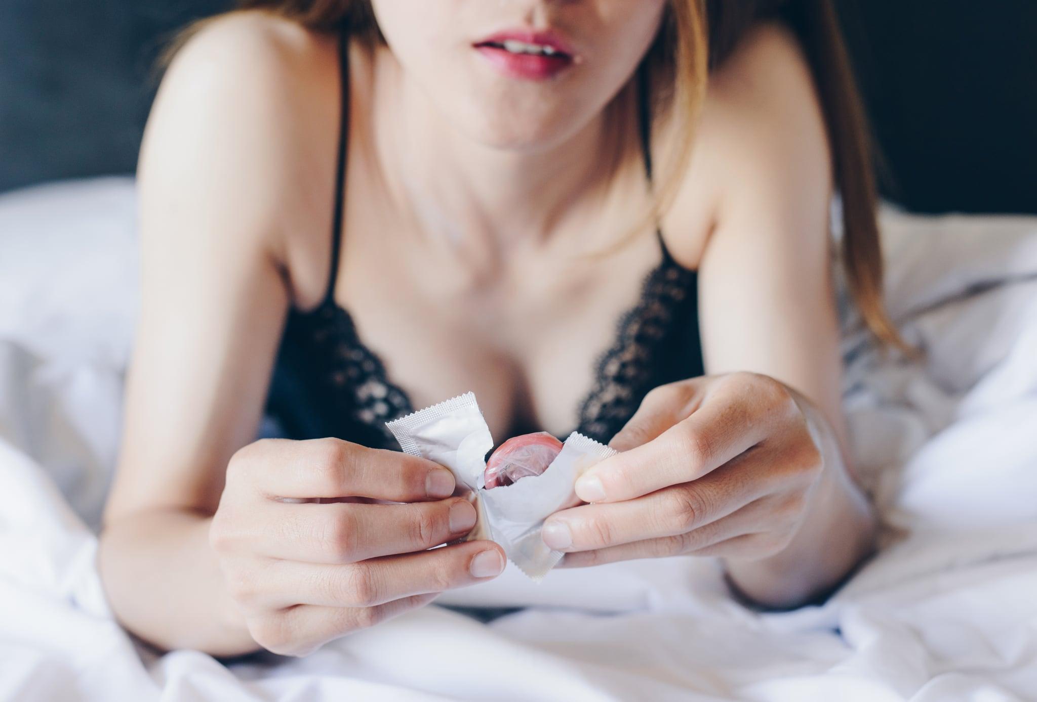 Safe sex and Prevent Pregnancy concept.
