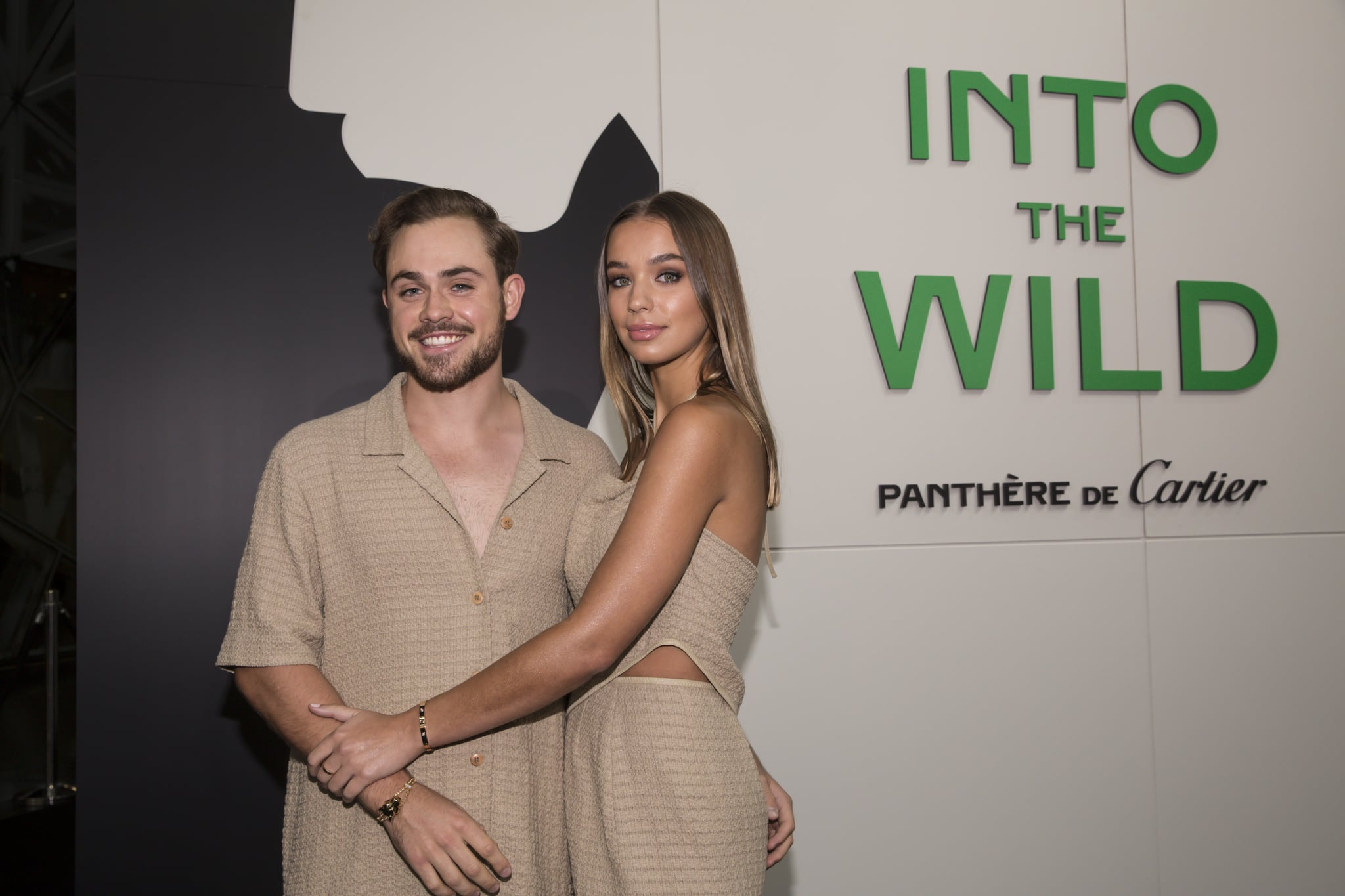 MELBOURNE, AUSTRALIA - MARCH 05: Dacre Montgomery and Olivia Pollock attends the Cartier Into The Wild Launch Event on March 05, 2020 in Melbourne, Australia. (Photo by Sam Tabone/WireImage)