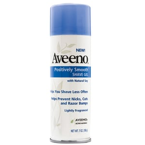 Doing Drugstore: Aveeno Positively Smooth Shave Gel