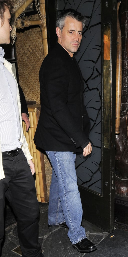 Pictures of Matt LeBlanc Out in London