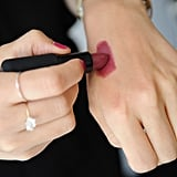 "For cheeks, McAdams used the same lipstick as cream blush. Just swatch on your hand to apply with your fingers. ""I like to keep those same mauve tones."""