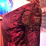 A close up of the sleeve on Cersei Lannister's dress. Source: Jessica Chandra
