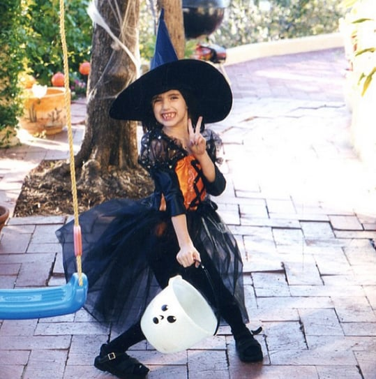 Emma Roberts was into covens even before she was cast in American Horror Story. Source: Instagram user emmaroberts6