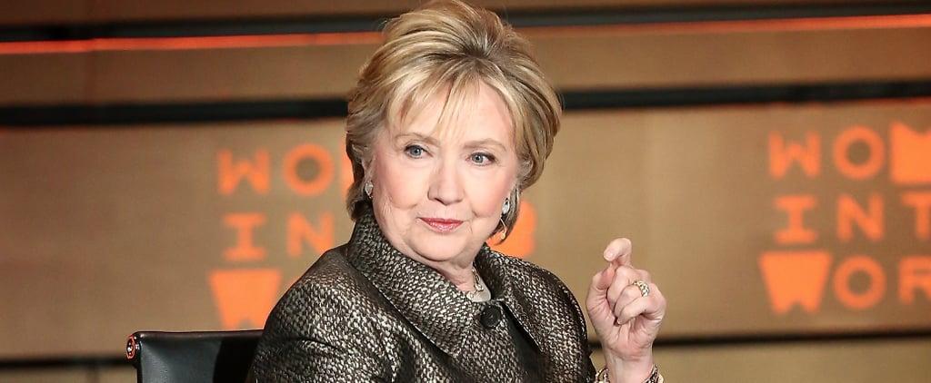 Hillary Clinton's Shiny Jacket and Striking New Style