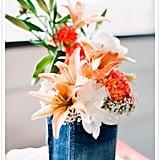 Denim Vase