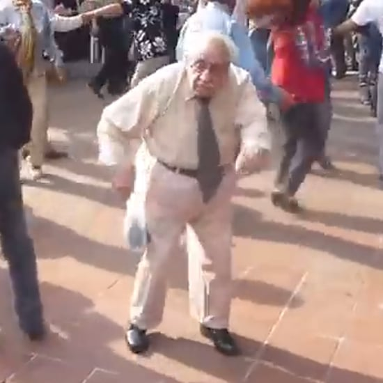 Old Man Dancing Without Cane | Video