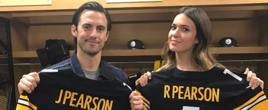 Mandy Moore and Milo Ventimiglia Show Off Their This Is Us Steelers Pride in Pittsburgh