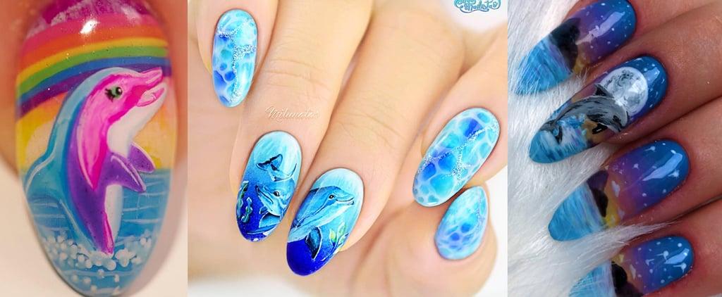 Dolphin Nail Art