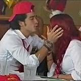 Alfonso Herrera and Dulce María