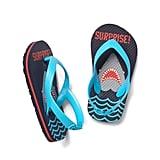 Surprise Shark Flip Flops
