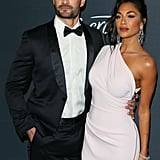 Nicole Scherzinger and Thom Evans at 2020 Golden Globes