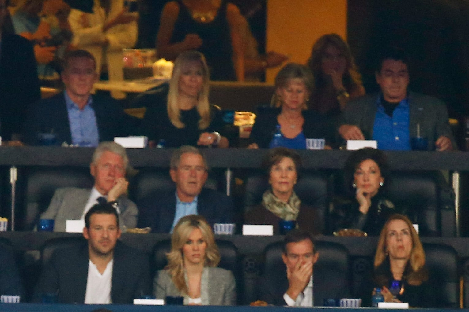 So, Were Bush and Clinton Rooting For Different Teams?