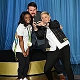 Can't forget about the time superfan Channing Tatum wanted a selfie with her and Ellen DeGeneres