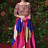 Kate Fleetwood at the 65th Evening Standard Theatre Awards