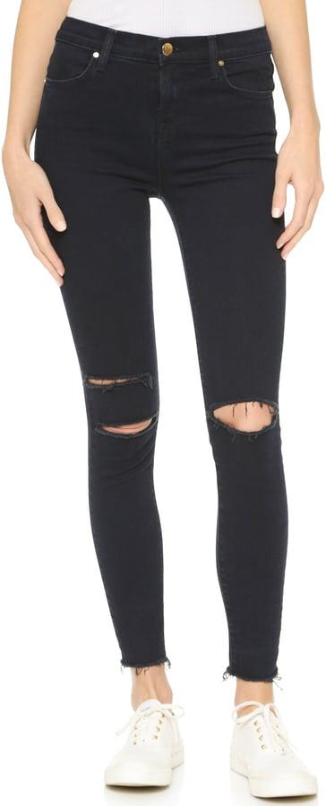 J Brand High Rise Alana Crop Jeans ($218)