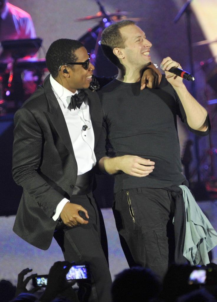 Jay Z and Chris Martin