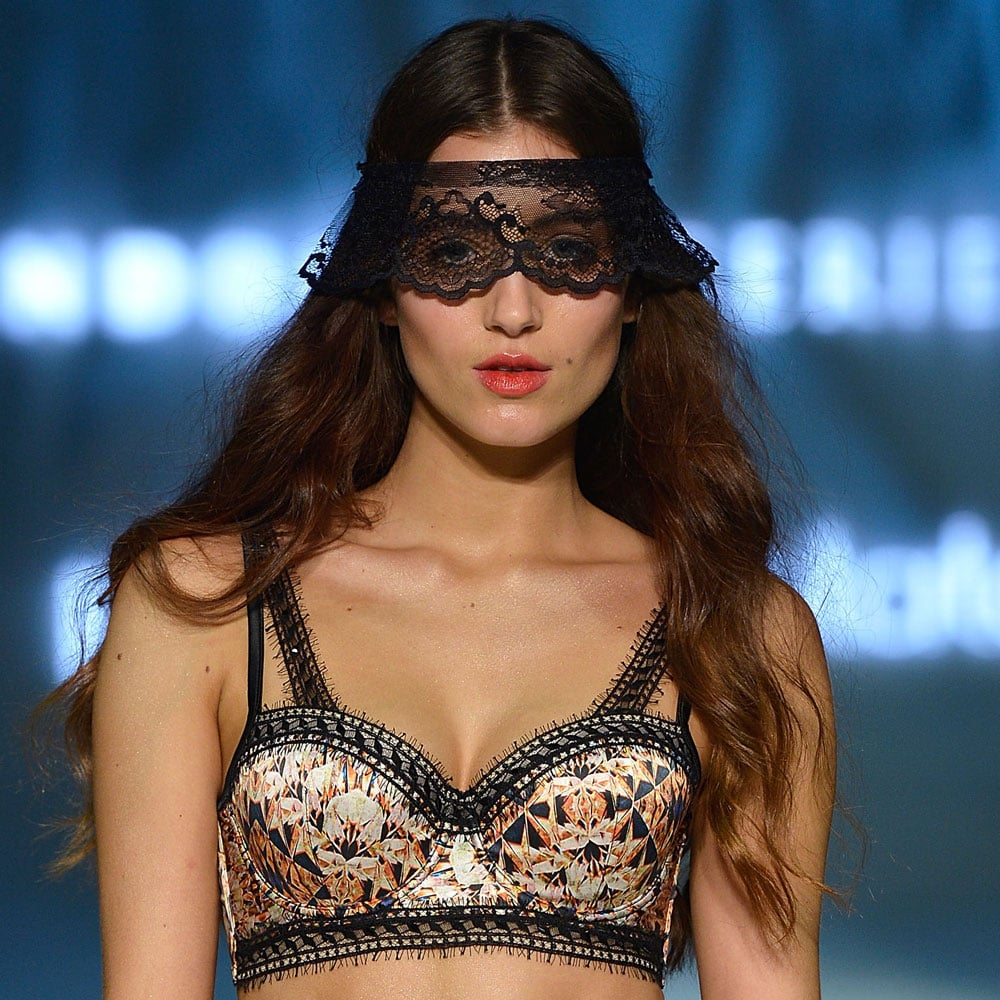 Jennifer Hawkins Leads a Bevy of Beauties Down the Runway for Bendon