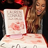 When Her Birthday Cake Featured Her Book Cover