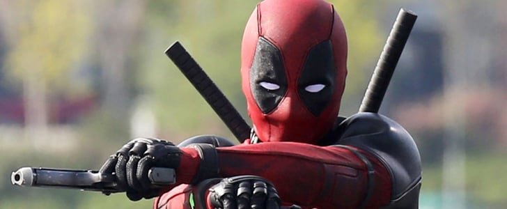 Check Out Ryan Reynolds in Costume on the Set of Deadpool