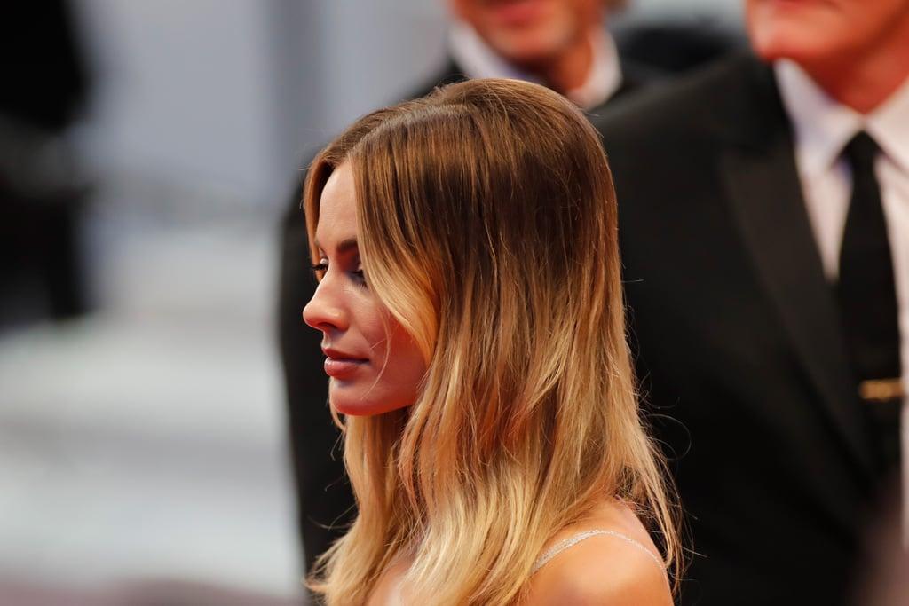 Margot Robbie Recreates Sharon Tate's Hair at Cannes
