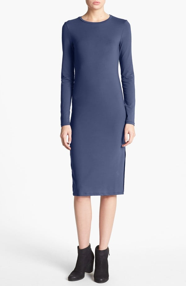 You can never have too many basic dresses like this Leith long-sleeve knit midi dress ($48), perfect for layering up, paring down, and dressing up.