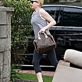 Michelle Williams Makes a Run For It Ahead of the Oscars