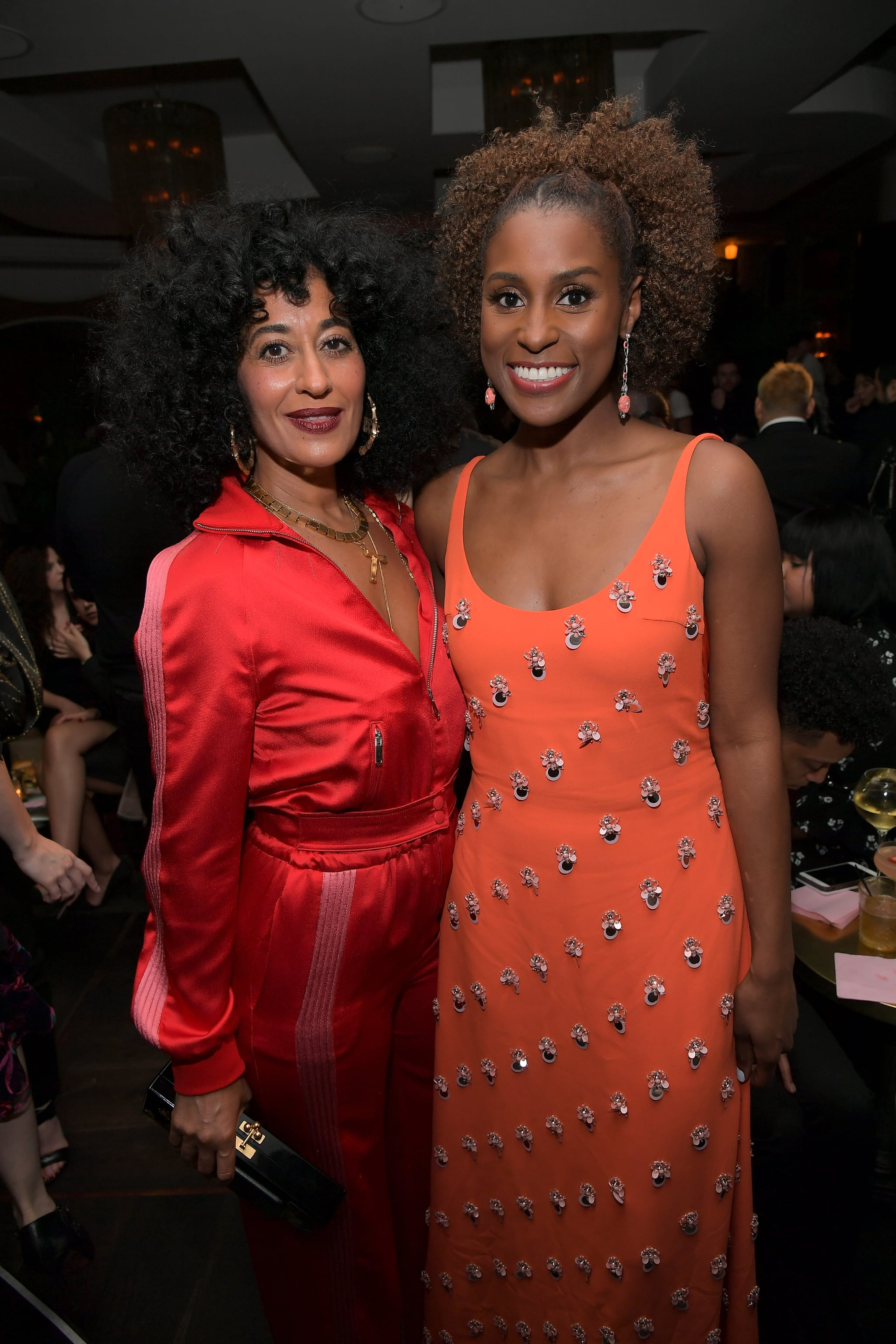 WEST HOLLYWOOD, CA - JANUARY 11:  Tracee Ellis Ross (L) and Issa Rae attend the Marie Claire's Image Makers Awards 2018 on January 11, 2018 in West Hollywood, California.  (Photo by Charley Gallay/Getty Images for Marie Claire)