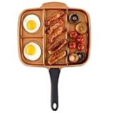 VonShef 4-in-1 Divided Skillet Breakfast Grill Pan
