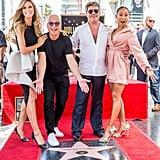 Heidi Klum, Howie Mandel, Simon Cowell, and Mel B