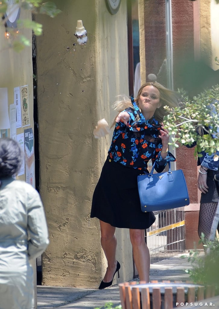 Reese Witherspoon and Meryl Streep Big Little Lies Set 2018