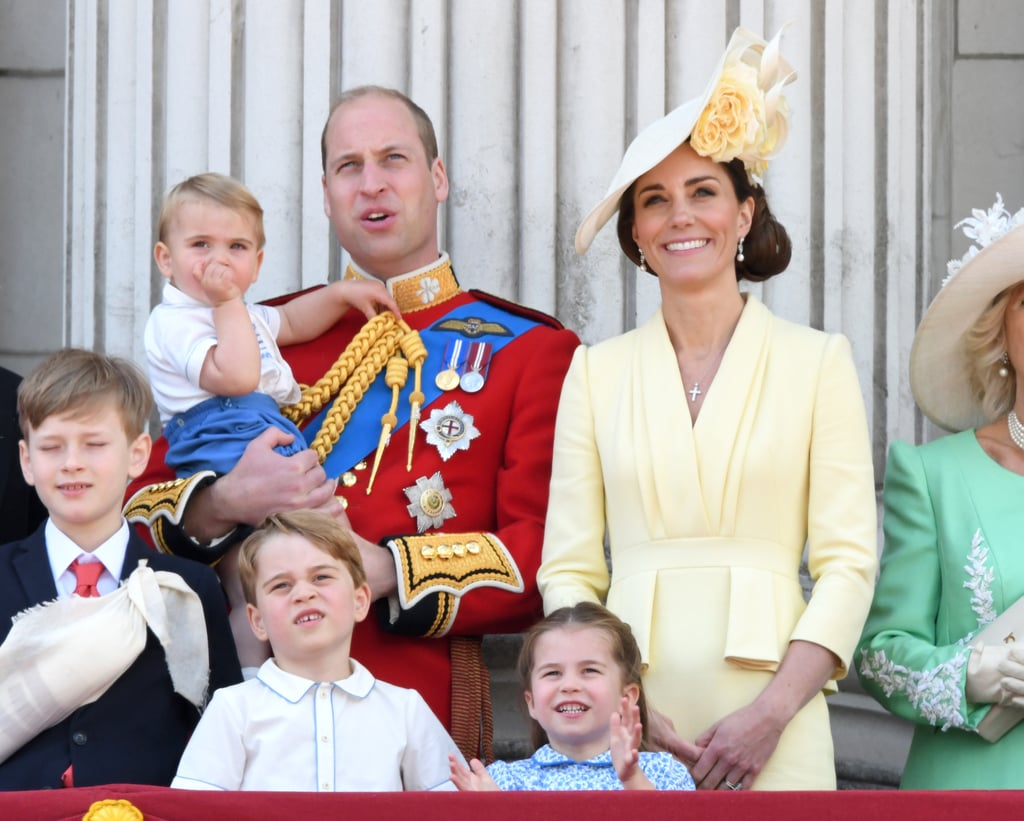 When He Appeared on the Buckingham Palace Balcony For Trooping the Colour