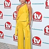Catherine Tyldesley at the TV Choice Awards in September 2018