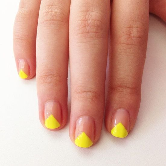 Bright nail art is always a winner on social media, so there is no surprise that this manicure was a favorite on Pinterest.