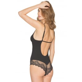 Only Hearts So Fine With Lace Low Back Bodysuit