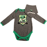 Slytherin House Baby Grow and Bib
