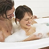 Take a bubble bath together.