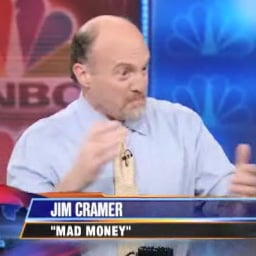 In This Economy! Jim Cramer Nearly Cries on The Daily Show