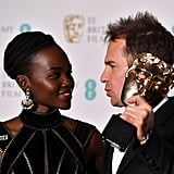 Lupita Nyong'o and Sam Rockwell, 2018