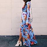 Sunward Floral Print Maxi Dress