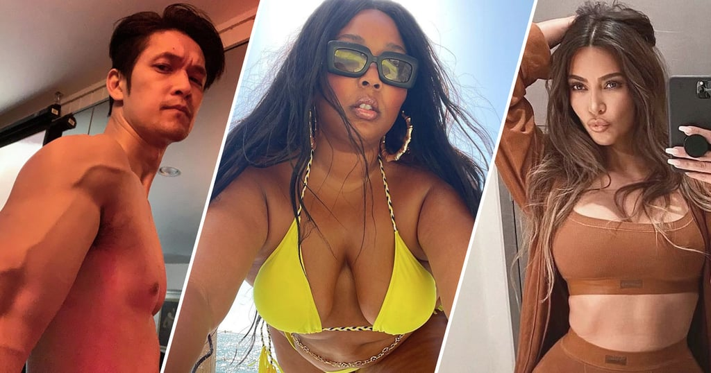 The Sexiest Celebrity Selfies of 2021