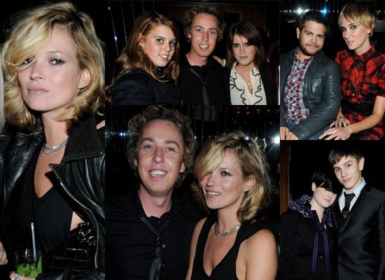 Photos Of James Brown, Kate Moss, Princess Beatrice And Eugenie, Kelly And Jack Osbourne, Kimberly Stewart at James Brown Party