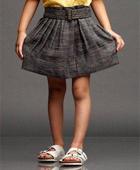 Pleated Umbrella Skirt ($125)