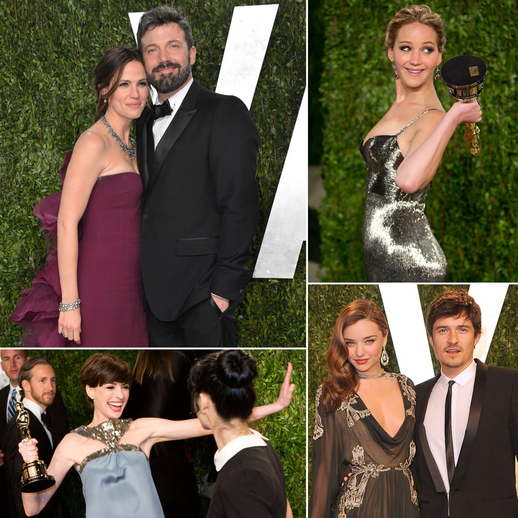 Celebrity Pictures at 2013 Vanity Fair Oscars Party