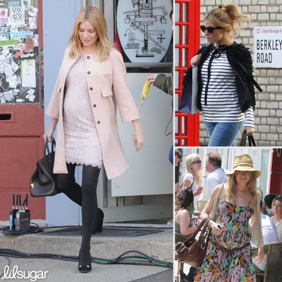 A Closer Look at Sienna Miller's Boho Chic Maternity Style