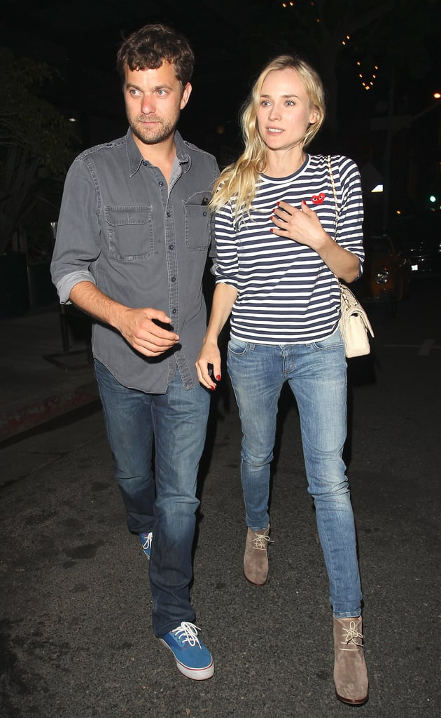 Diane Kruger and Joshua Jackson went on a date in LA.