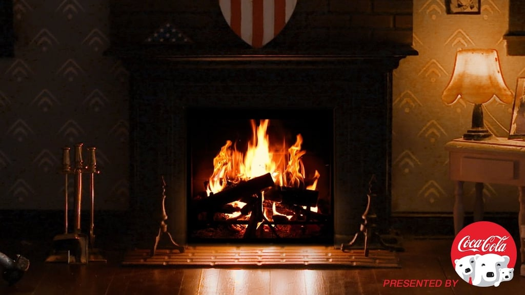 Captain America's Fireplace