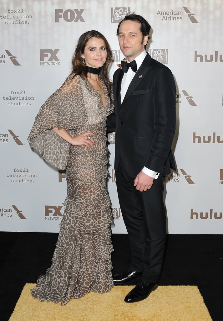 Keri Russell and Matthew Rhys Continue the Fun at a Golden Globes After-Party